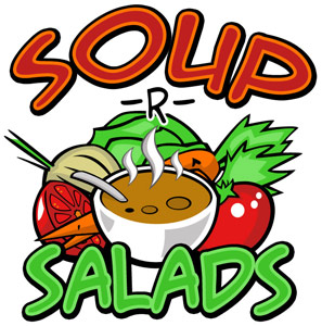 Soup & salad clipart banner free stock Soup And Salad Clipart | Clipart Panda - Free Clipart Images banner free stock