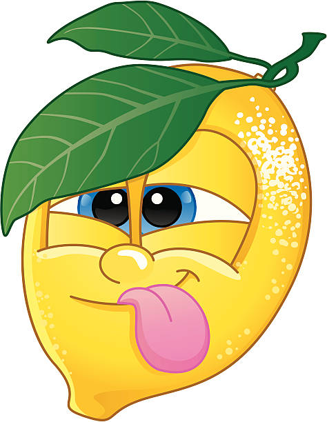 Clipart of a lemon with cute faces svg free Cartoon Sour Face Clipart | Free download best Cartoon Sour ... svg free