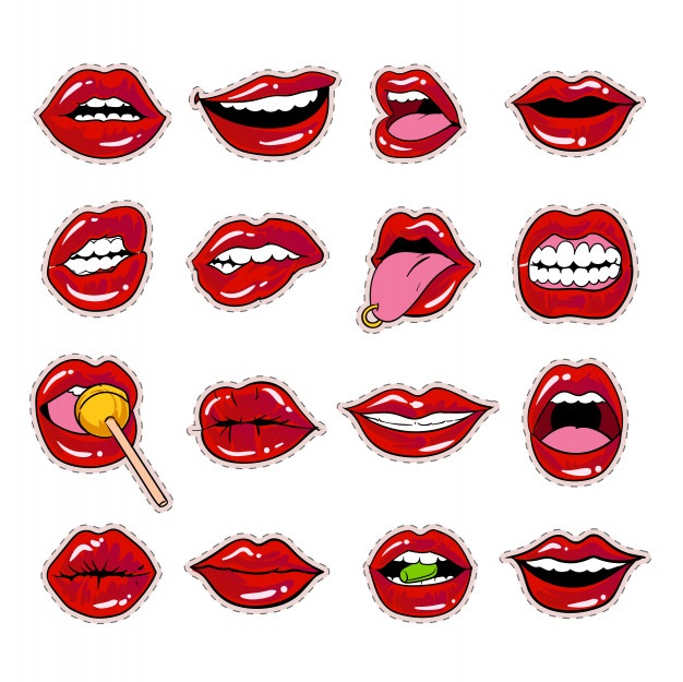 Sour lips clipart clipart royalty free Mouth Vectors, Photos and PSD files | Free Download clipart royalty free