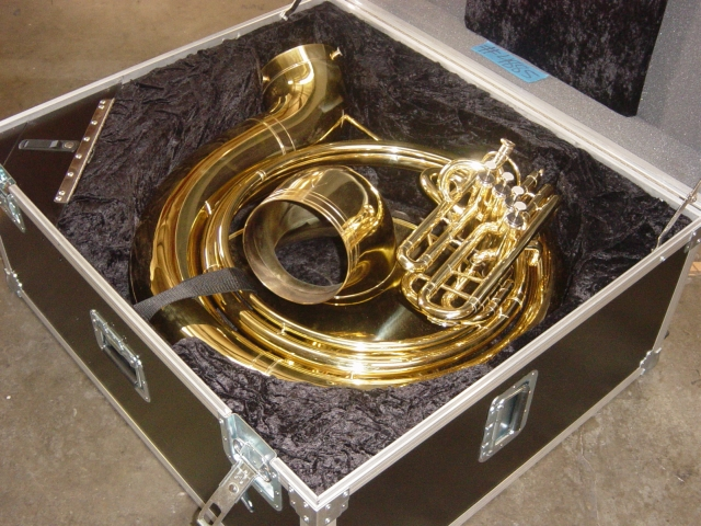 Sousaphone case clip library stock Sousaphone case - ClipartFest clip library stock