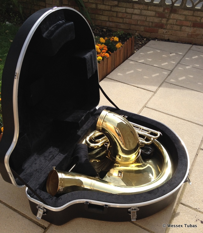 Sousaphone case freeuse library Sousaphone case - ClipartFox freeuse library