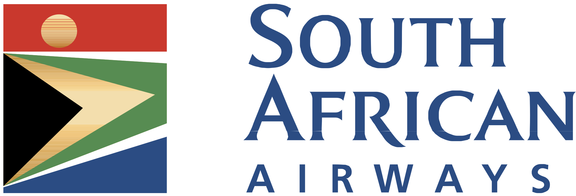 South african airways clipart picture library stock HD South African Airways Logo Png Transparent - South ... picture library stock