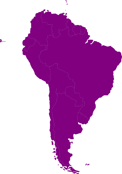 Southamerica clipart banner library stock south america continent | Continent Of South America clip ... banner library stock