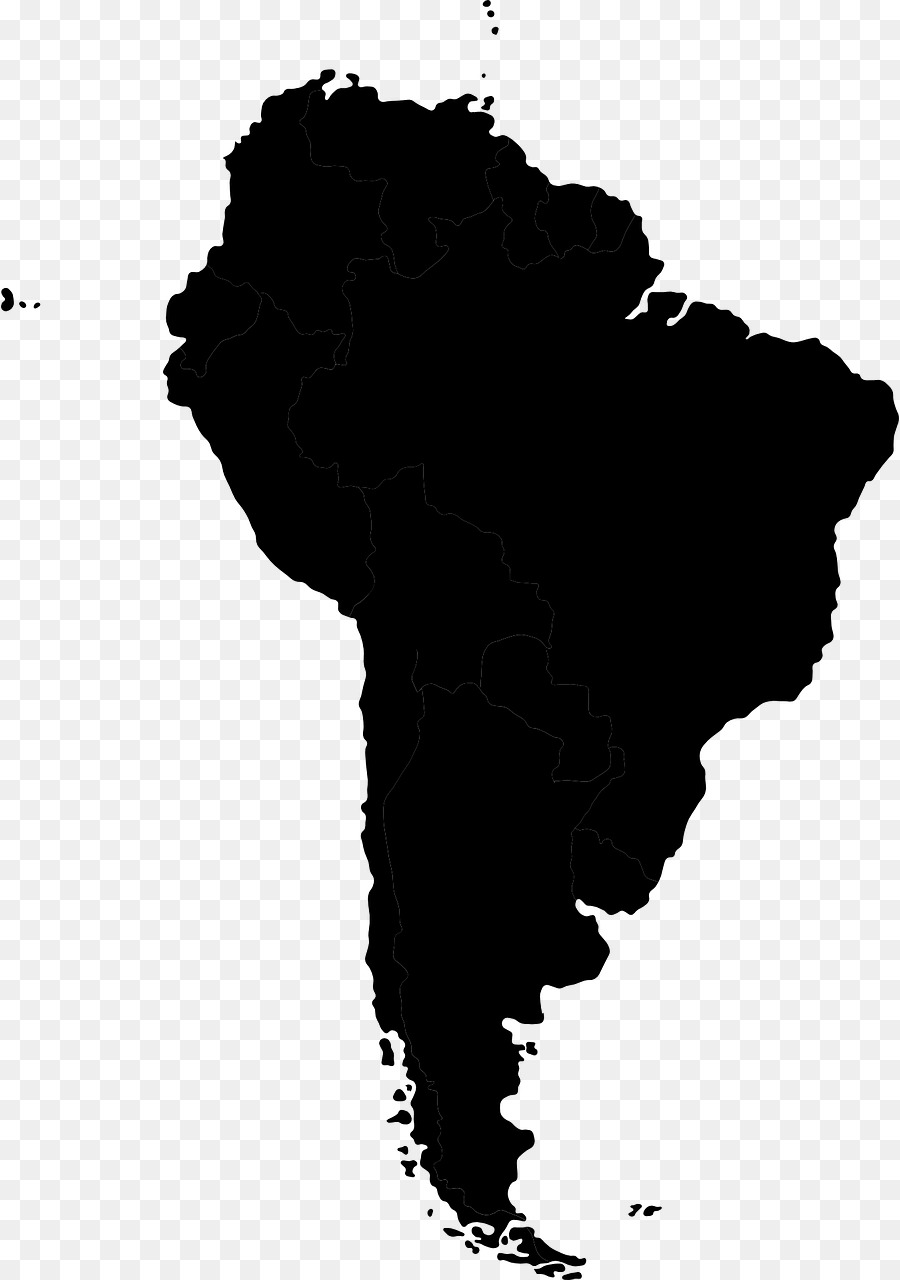 Southamerica clipart svg black and white Map Cartoon png download - 898*1280 - Free Transparent South ... svg black and white