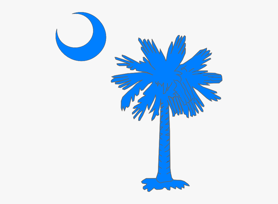South carolina palmetto clipart graphic stock Carolina Blue Palmetto Tree Clip Art - South Carolina ... graphic stock