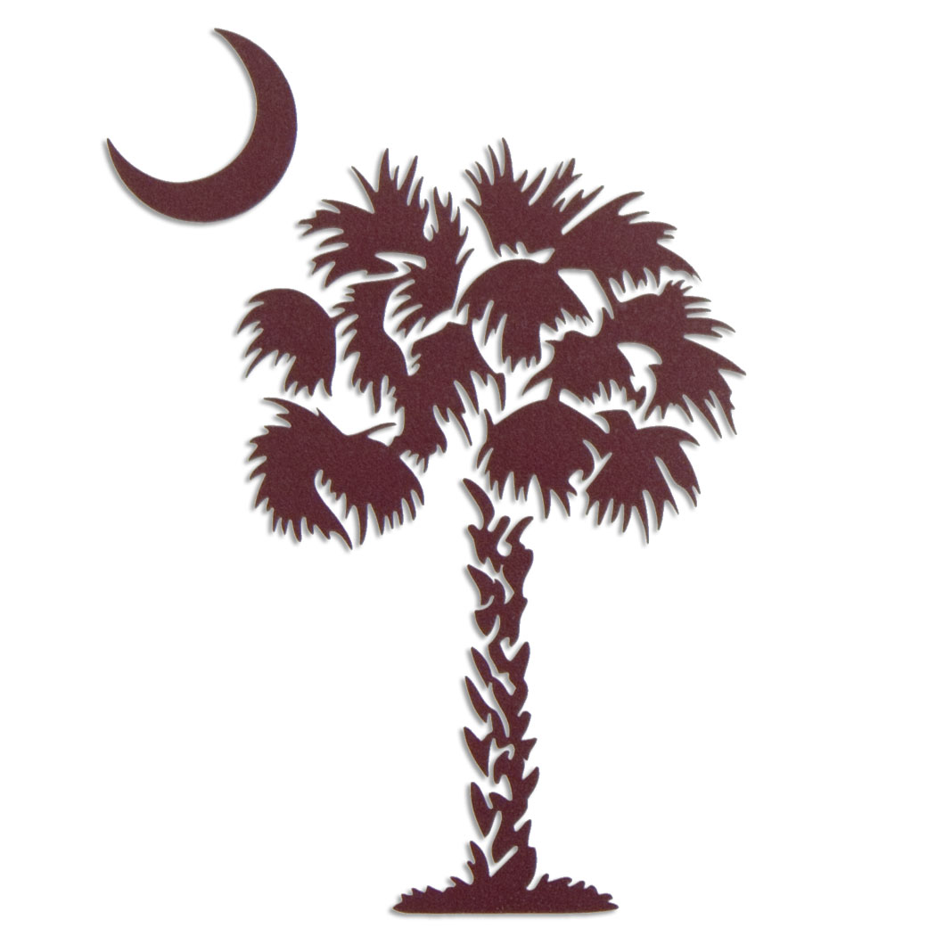 South carolina palmetto clipart vector royalty free library South Carolina Palmetto Tree - Free Clipart vector royalty free library