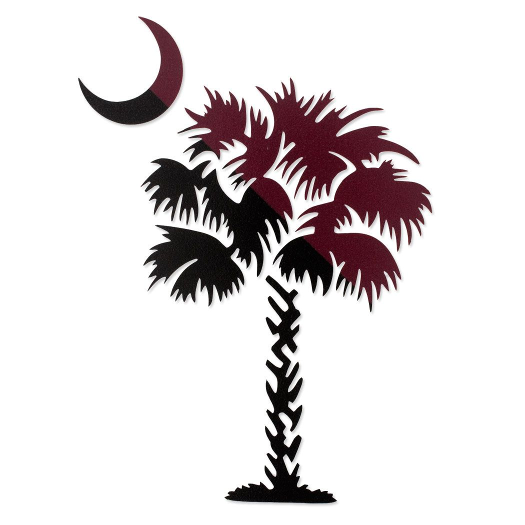 South carolina palmetto clipart graphic library stock gamecock clip art usc | South Carolina Palmetto Tree Decal ... graphic library stock