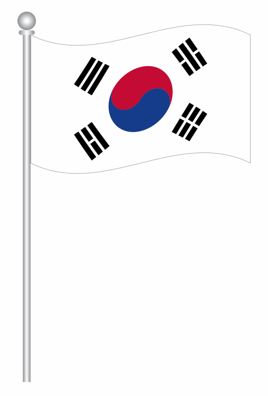 South korea flag clipart picture free stock Flag Of South Korea World Flags Png Image - South Korea Flag ... picture free stock