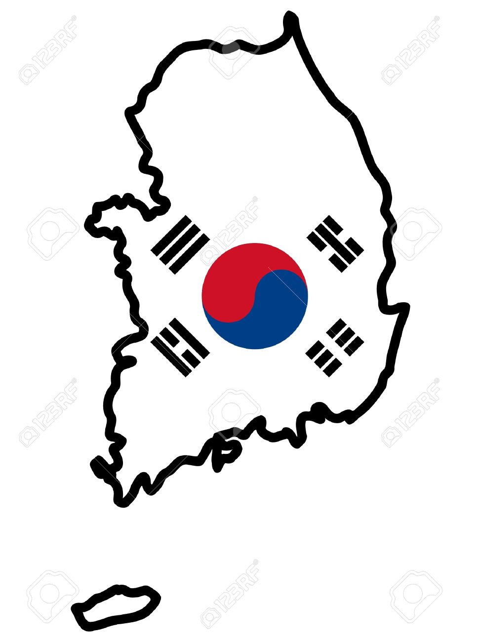 South korea clipart jpg library Collection of South korea clipart | Free download best South ... jpg library
