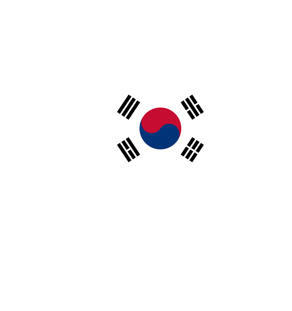South korea clipart clip art transparent stock OnlineLabels Clip Art - South Korea Map Flag clip art transparent stock