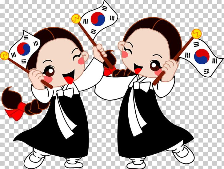 South korea clipart clipart black and white Flag Of South Korea Independence Day PNG, Clipart, Aegukga ... clipart black and white