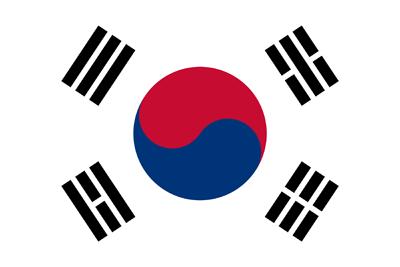 South korea clipart clip art royalty free download South Korea flag clipart - country flags clip art royalty free download