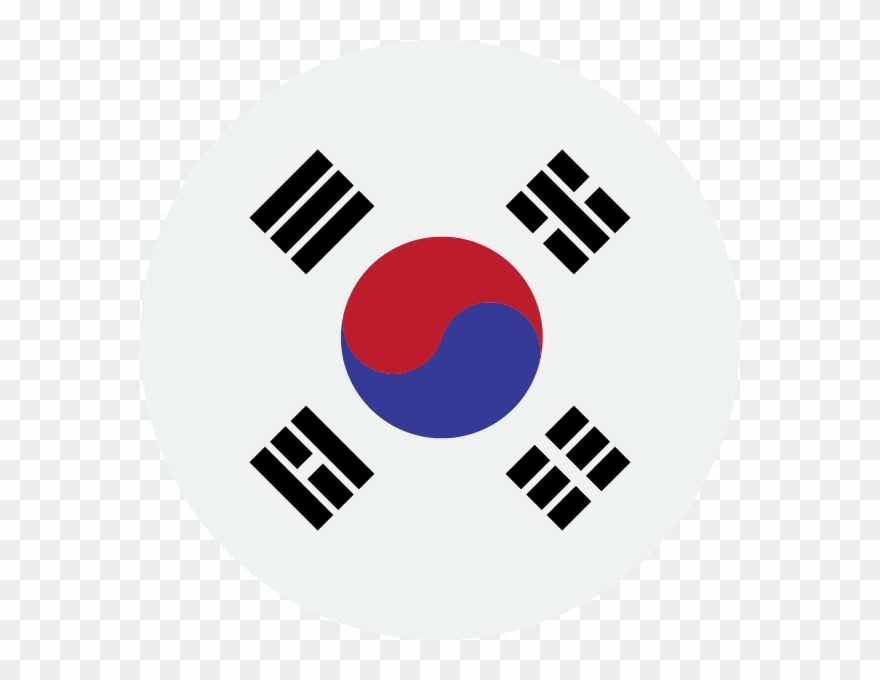 South korea flag clipart vector free stock Korean - South Korea Flag Clipart (#355943) - PinClipart vector free stock