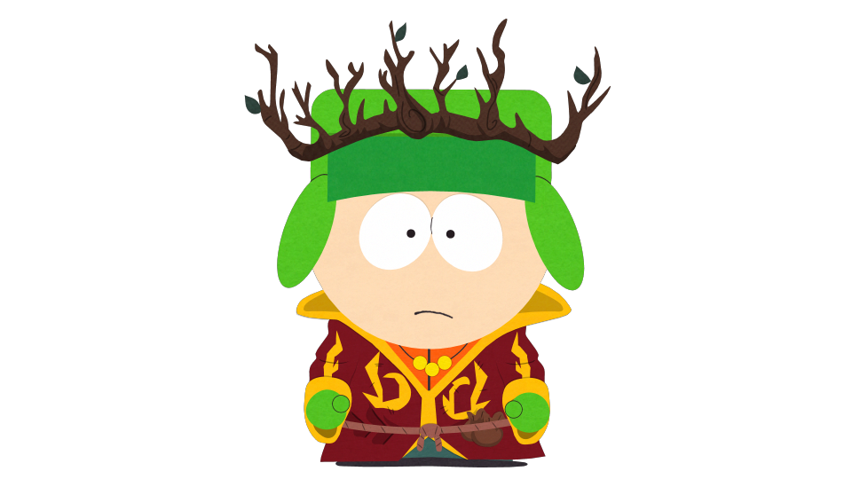 South park kyle clipart black and white library High Jew Elf King - Official South Park Studios Wiki | South ... black and white library