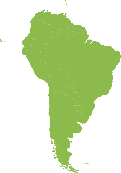 Southamerica clipart graphic royalty free Continent Of South America Green Clip Art at Clker.com ... graphic royalty free
