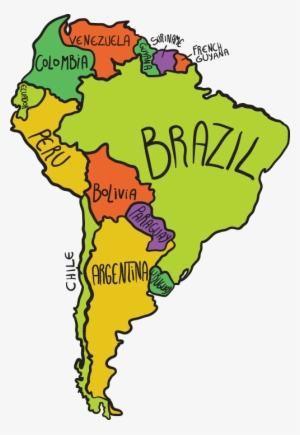 Southamerica clipart image black and white download South America PNG Images | PNG Cliparts Free Download on SeekPNG image black and white download