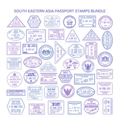 Southern asia passport stamps clipart clipart transparent Passport Indonesia Vector Images (88) clipart transparent