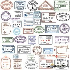 Southern asia passport stamps clipart graphic library download 113 Best Passport Stamps images in 2018 | Passport stamps ... graphic library download