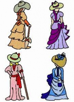 Southern belle clipart free download Southern Belles ~ LG Hoop: Unique Machine Embroidery Designs ... free download