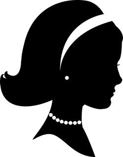 Southern belle hat silhouette clipart picture royalty free download 17 Best images about secrets of a southern belle on Pinterest ... picture royalty free download