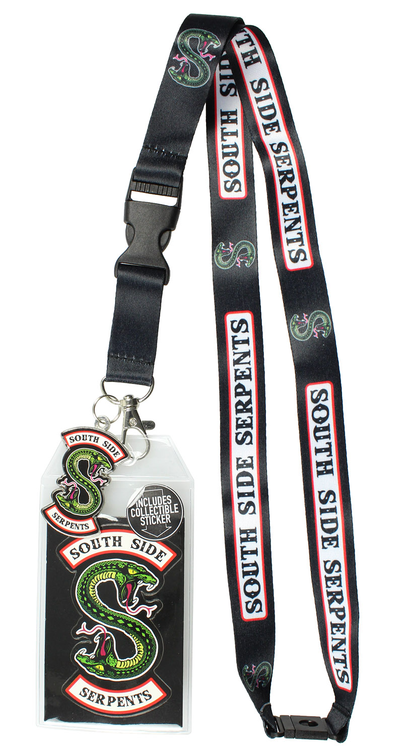 Southside serpents clipart picture royalty free library Riverdale Southside Serpents ID Lanyard Badge Holder With 2\