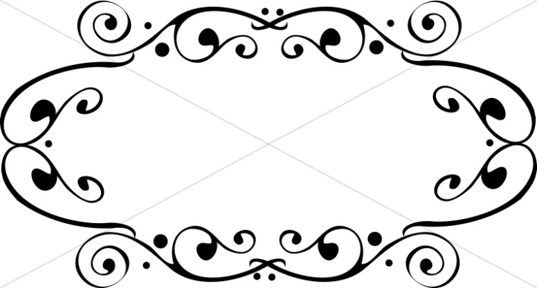 Southwestern borders and frames clipart black and white royalty free download Religious Borders, Religious Border Clipart, Christian ... royalty free download