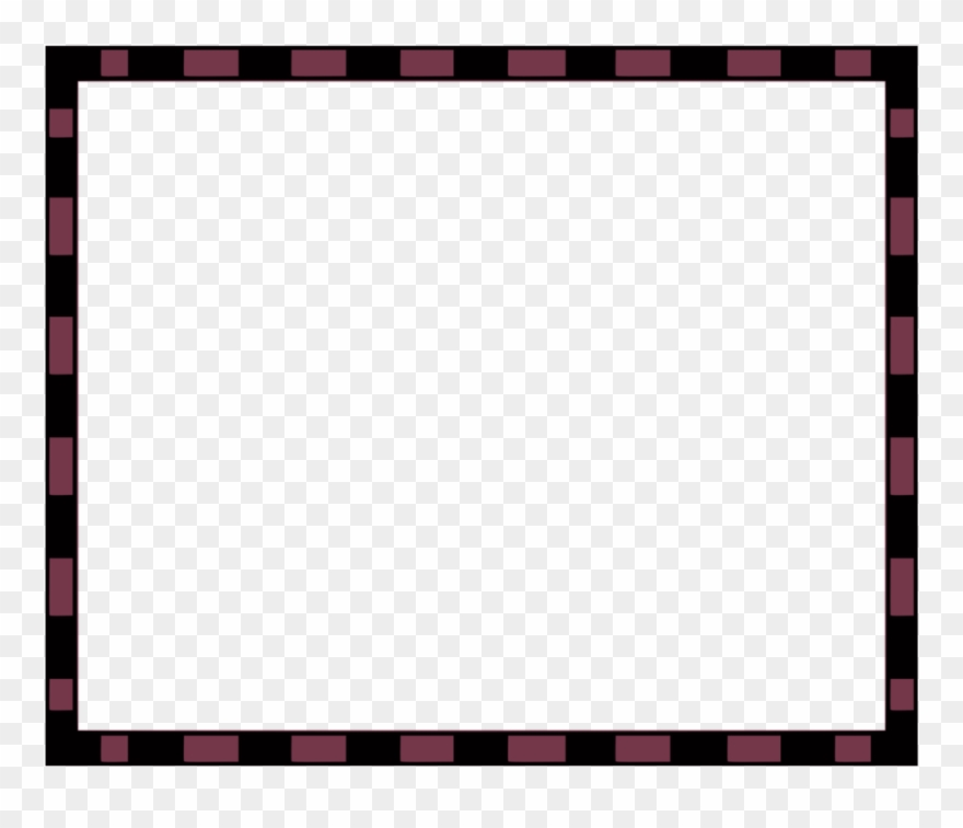 Southwestern borders and frames clipart black and white graphic free All Photo Png Clipart - Red And Black Border Png Transparent ... graphic free
