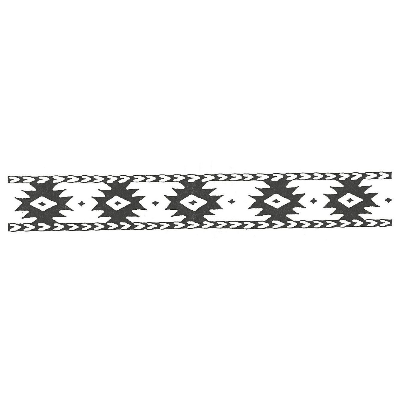 Southwestern borders and frames clipart black and white clip freeuse library Southwest Border clip freeuse library
