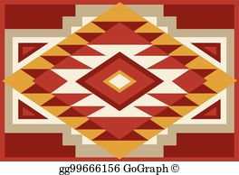 Southwestern designs clipart svg freeuse download Southwest Clip Art - Royalty Free - GoGraph svg freeuse download