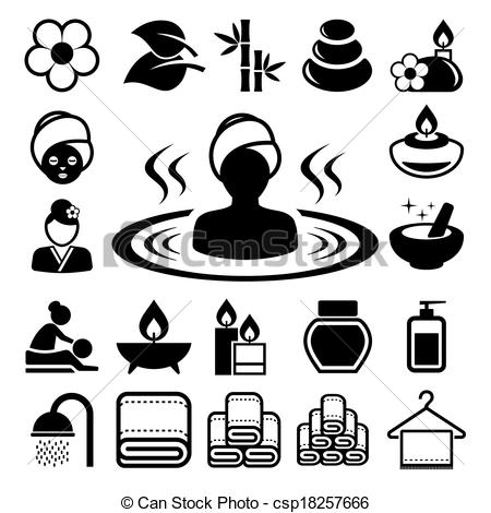 Spa clipart black and white vector Spa clipart black and white 4 » Clipart Station vector