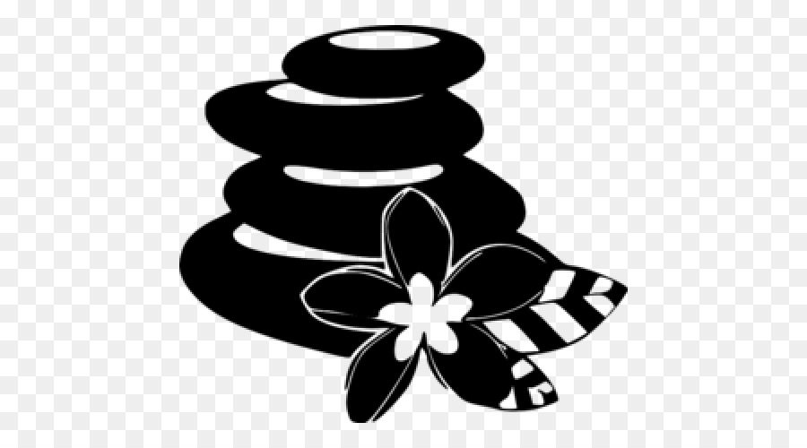 Spa clipart black and white graphic freeuse stock Black And White Flower png download - 500*500 - Free ... graphic freeuse stock