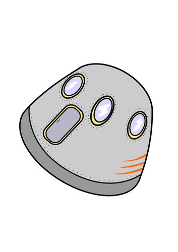 Space capsule clipart jpg library library Space vehicle | Public domain vectors jpg library library