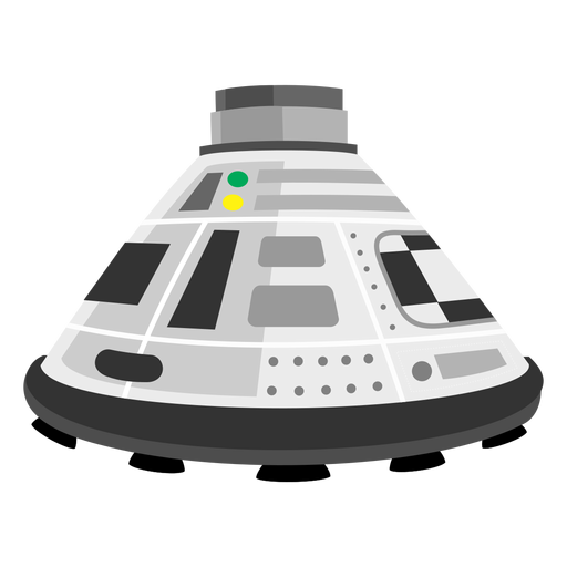 Space capsule clipart svg black and white library Space capsule icon - Transparent PNG & SVG vector svg black and white library