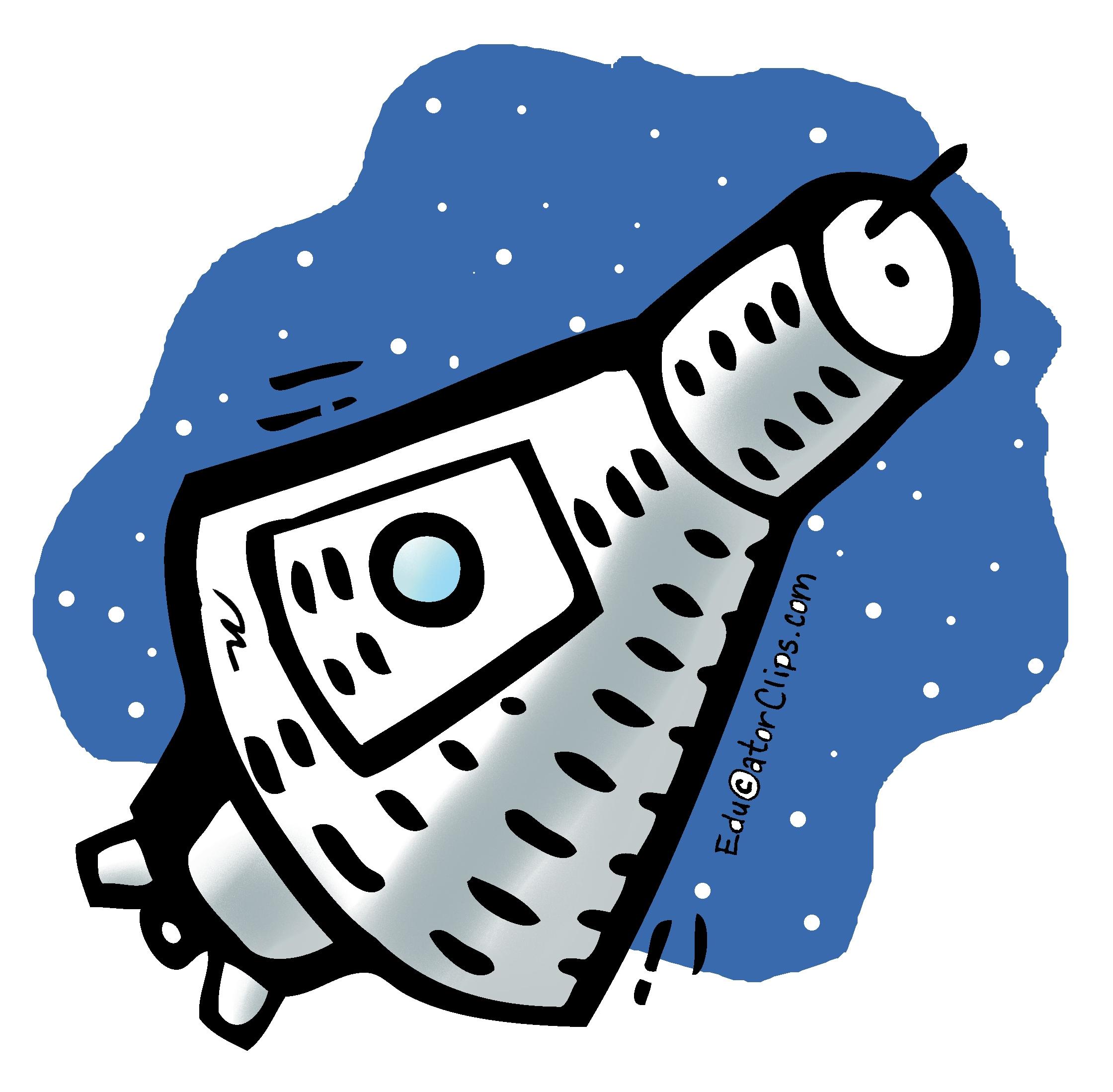 Space capsule clipart image stock Mercury Space Capsule Clip Art image stock