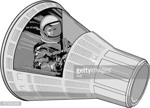 Space capsule clipart vector royalty free library Astronaut IN Space Capsule premium clipart - ClipartLogo.com vector royalty free library