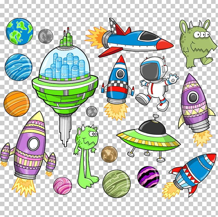 Space cartoon clipart picture royalty free Spacecraft Outer Space Cartoon Illustration PNG, Clipart ... picture royalty free