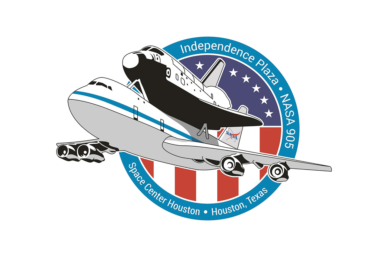 Space center houston clipart jpg freeuse download Independence Plaza: 747-Shuttle Exhibit | Space Center ... jpg freeuse download