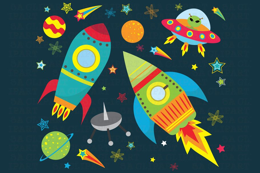 Space design clipart clipart freeuse library Outer space clipart clipart freeuse library