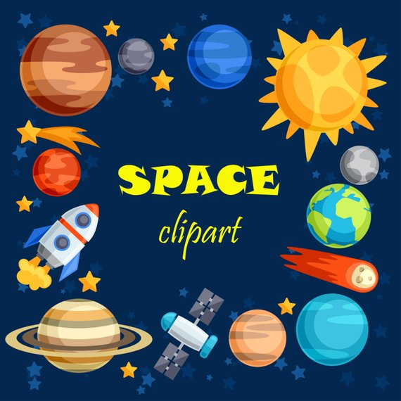 Space design clipart image freeuse library Space Clipart Clip Art Outer Planet Rocket Great Prestigious ... image freeuse library
