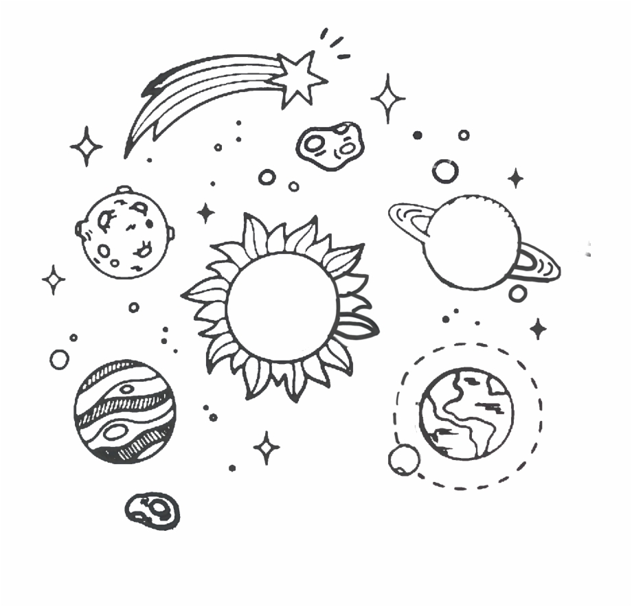 Space drawing clipart picture royalty free stock Tumblr Space Transparent Clipart Free Download Ya Webdesign ... picture royalty free stock