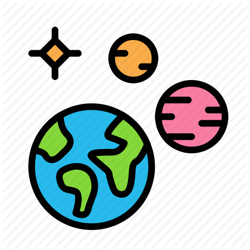 Space icon clipart banner transparent stock \'Science\' by emojious.com banner transparent stock