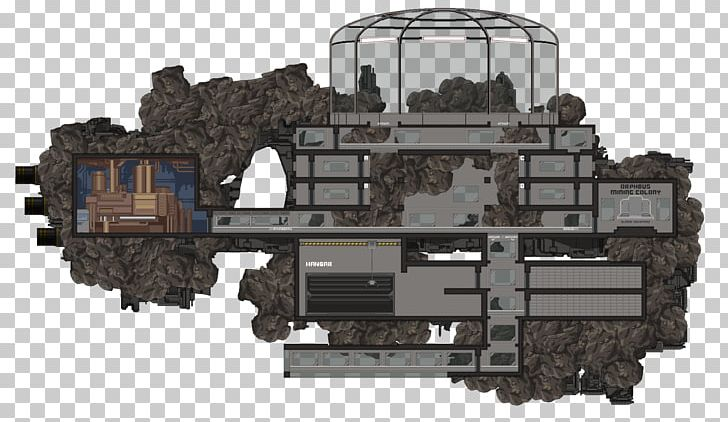 Space mining clipart clip black and white download Starbound Asteroid Mining Chucklefish Generation Ship PNG ... clip black and white download