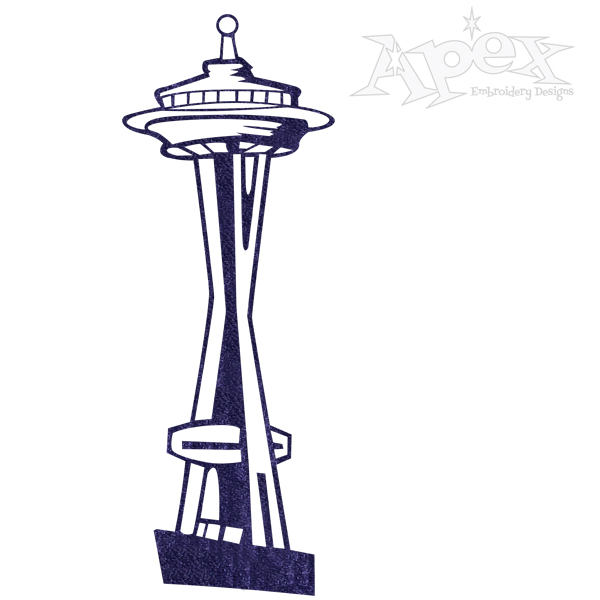 Space needle clipart svg freeuse Space Needle Clipart   Free download best Space Needle ... svg freeuse