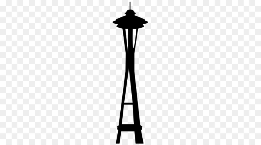 Space needle clipart picture free Space Needle Background clipart - Drawing, Line, Lamp ... picture free