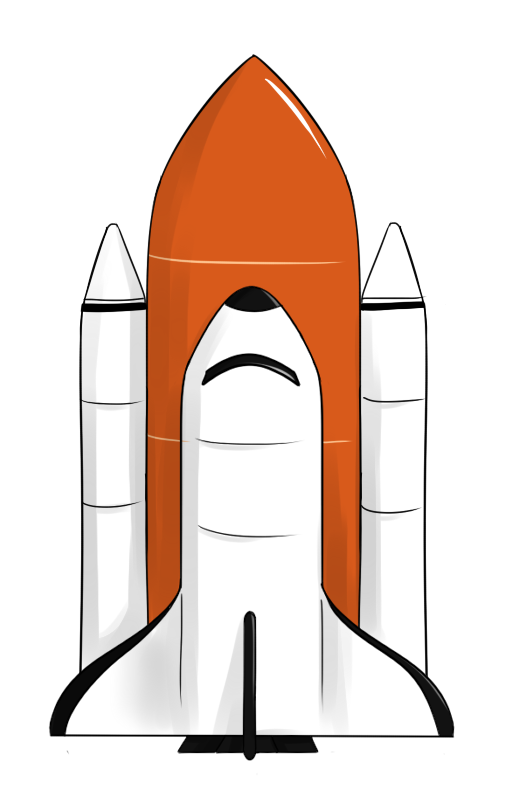Space shuttle launch clipart vector black and white stock Free Space Shuttle Clipart, Download Free Clip Art, Free ... vector black and white stock