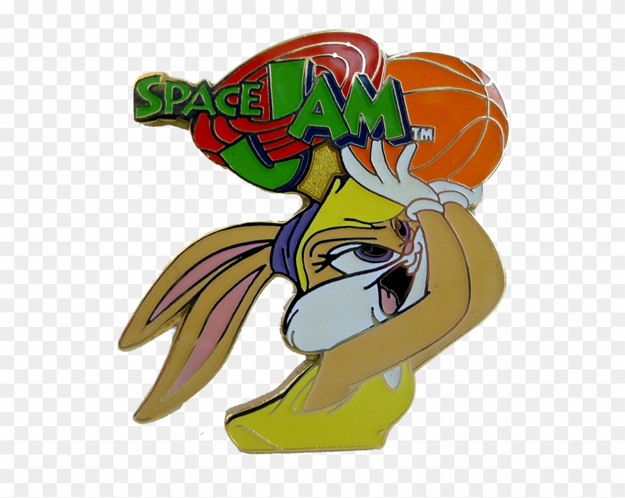 Spacejam clipart clipart black and white stock Vintage Space Jam Lola Bunny - Lola Bunny Space Jam Pin ... clipart black and white stock