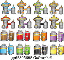 Spaceport clipart png library Spaceport Clip Art - Royalty Free - GoGraph png library
