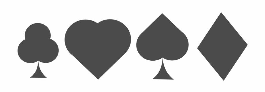 Spades card game clipart vector library download Card Game Diamonds Hearts Clubs Spades Cards - Hearts Spades ... vector library download
