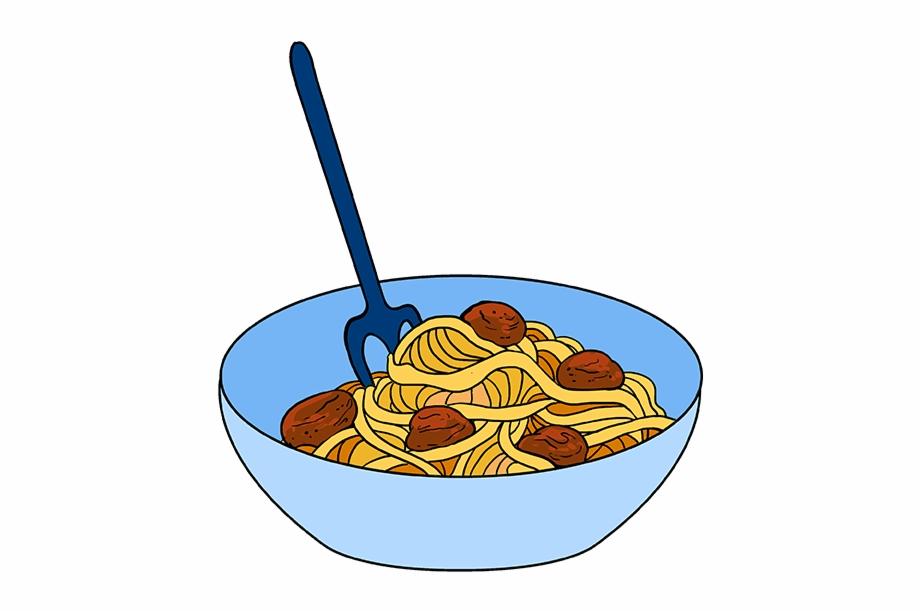 Spaghetti bowl clipart clipart freeuse stock How To Draw Spaghetti - Bowl Of Spaghetti Drawing Free PNG ... clipart freeuse stock
