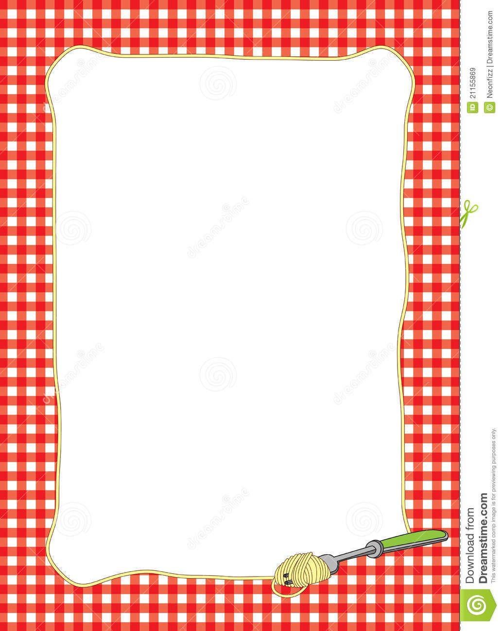 Spaghetti clipart borders royalty free Pin by Debra Dempsey on Scrapbook Cookbook | Italian recipes ... royalty free